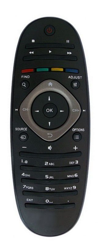 CONTROLE REMOTO TV LCD / LED PHILIPS OVAL 32PFL3406D / 32PFL3606D