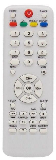 CONTROLE REMOTO TV LCD H-BUSTER BRANCO - SKY-7818