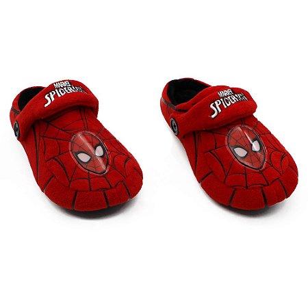 Pantufa Infantil Kick Marvel Spider-Man (Homem-Aranha) M 28/30 Zona Criativa - 10071250