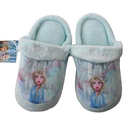 Pantufa Infantil Kick Frozen Elsa G 31/33 Zona Criativa - 10071258