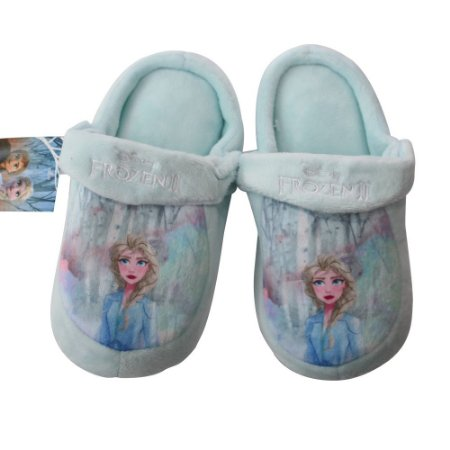 Pantufa Infantil Kick Frozen Elsa M 28/30 Zona Criativa - 10071257