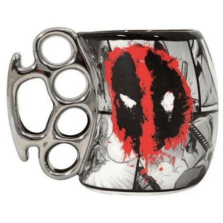 Caneca Soco Inglês Deadpool 350ml Zona Criativa - 10022846