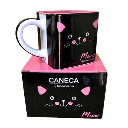Caneca Cubo Meow 300ml Zona Criativa - 10023003