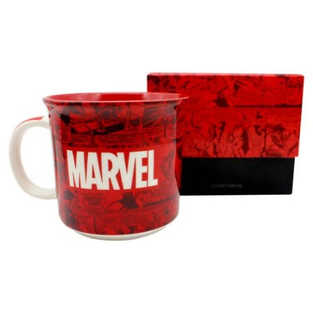 Caneca Marvel Classic 350ml Zona Criativa - 10023282