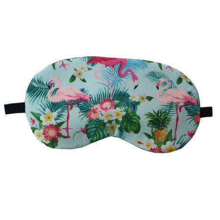 Máscara de Gel Térmico para Descanso Estampa Flamingo Mod.5 - XD356021
