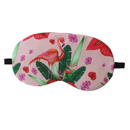 Máscara de Gel Térmico para Descanso Estampa Flamingo Mod.3 - XD356021