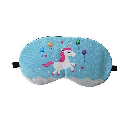 Máscara de Gel Térmico para Descanso Estampa Unicórnio 1 Mod.1 - XD356028