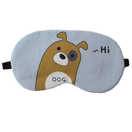 Máscara de Gel Térmico para Descanso Estampa Oi Cachorro - XD356029