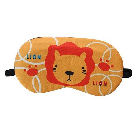 Máscara de Gel Térmico para Descanso Estampa Leão - XD356194
