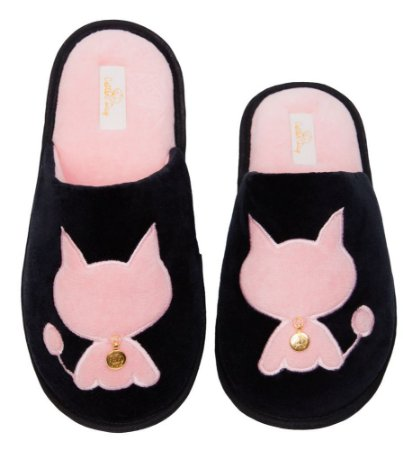 Pantufa Gata 39/40 Cotton Day - 16006