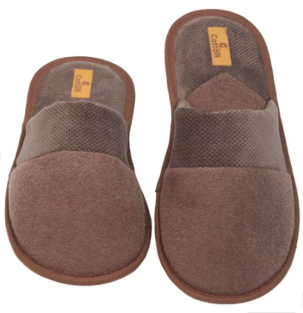 Pantufa Plush Buckle com Veludo 37/38 Cotton Day - 17301