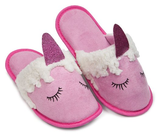 Pantufa Unicórnio Aplique P 35/36 Cotton Day - 18507