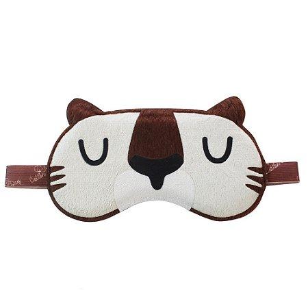 Máscara de Dormir Tigre Aplique Cotton Day - 24011