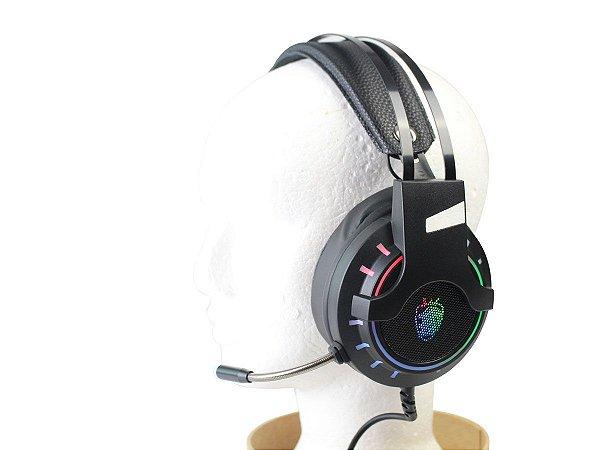 Headset Gamer USB com Microfone 7.1 LED SH-FO-Q10 Shinka