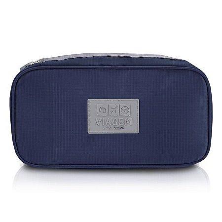 Bolsa Porta Lingerie Jacki Design - ARH18691 Cor:Azul