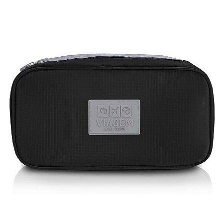 Bolsa Porta Lingerie Jacki Design - ARH18691 Cor:Preto