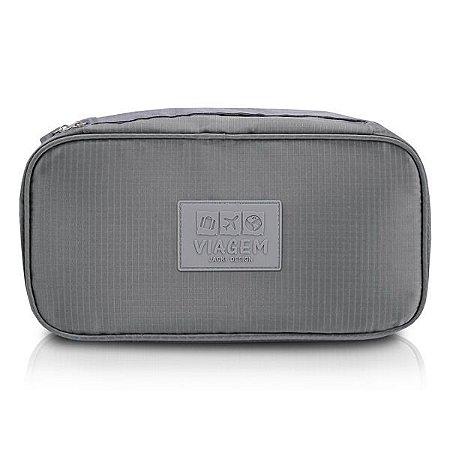 Bolsa Porta Lingerie Jacki Design - ARH18691 Cor:Cinza