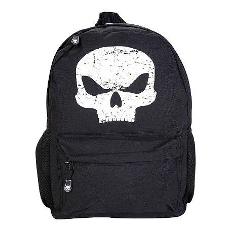 Mochila Black Skull Clio Preto/Branco - BS2192