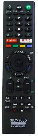 Controle Remoto TV LCD Sony Globo Play