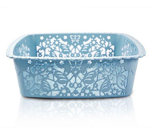 Cesto Organizador (M) Life Style Jacki Design - AYJ17235 Azul
