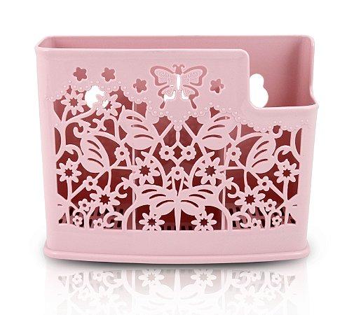 Cesto Organizador para Parede Life Style Jacki Design - AYJ17167 Rosa