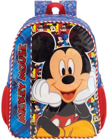 Mochila Escolar 16 Mickey Selfie Xeryus - 8952