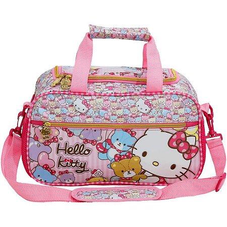Mini Sacola Escolar Hello Kitty Tiny Bears - 7867