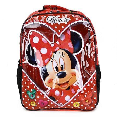 Mochila Escolar 16 Minnie Love Xeryus - 8912