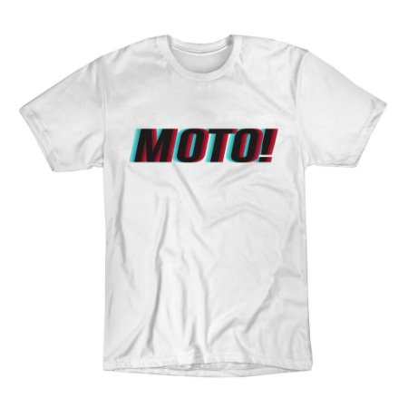Camiseta ASW MOTO Branco GG