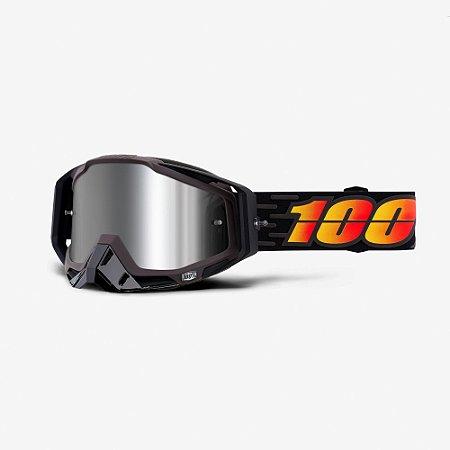Óculos 100% Racecraft Plus Costume Preto