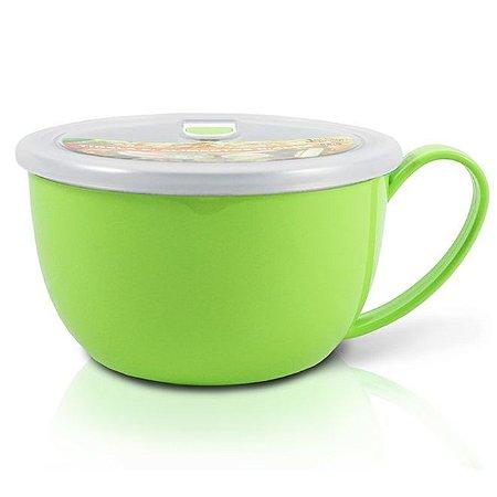 Tigela para Alimentos com Alça 1100ml AWM17221 Cor:Verde