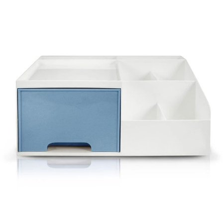 Organizador Multiuso de 1 Gaveta Jacki Design - AHX20906 Azul