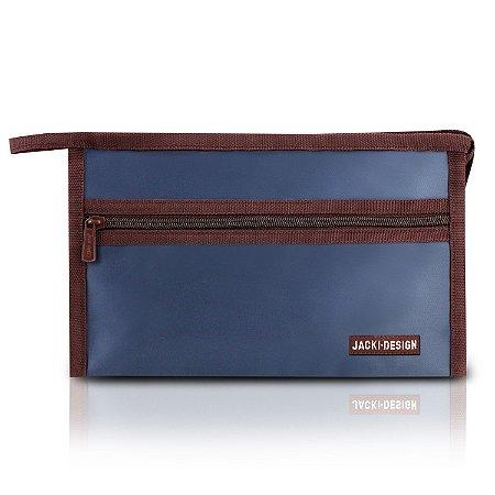 Necessaire Envelope Essencial III Jacki Design - AHL17392 Azul Escuro