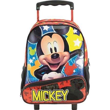 Mochila com Rodas 14 Mickey Hey Mickey - 8961