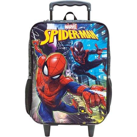 Mochila Infantil com Rodas 14 Spider Man Rescue - 8671