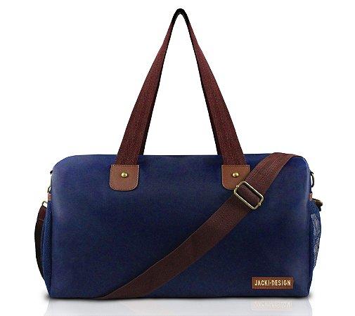 Bolsa de Viagem For Men II Jacki Design - AHL17206 Azul/Marrom