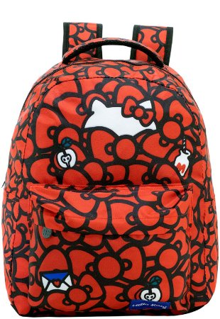 Mochila Escolar Hello Kitty T2 Xeryus - 9050