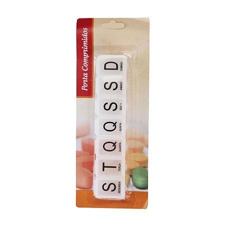 Porta Comprimidos Semanal Com 7 Divisórias - CA12190