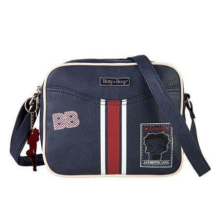 Bolsa Transversal Navy Azul Betty Boop Semax - BP7904