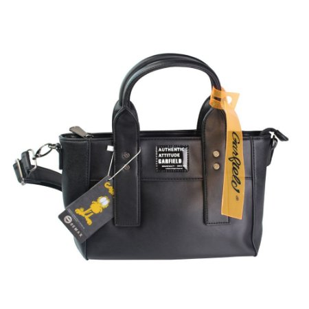 Bolsa Tiracolo Authentic Garfield Preto Semax - GF4903
