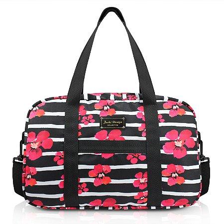 Bolsa de Viagem Bossanova Preto Jacki Design - ABC17556