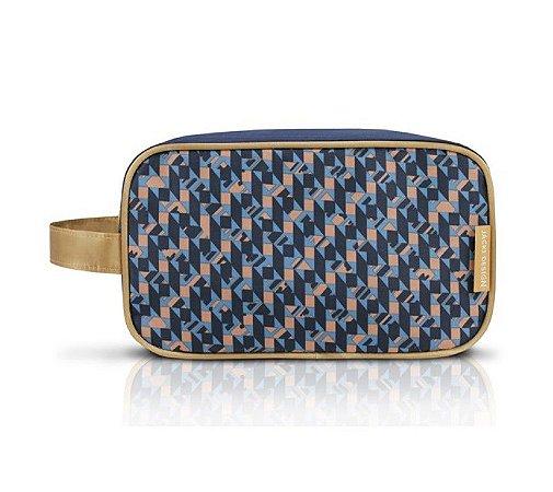 Necessaire G City Azul Zigzag Jacki Design - AHL17565
