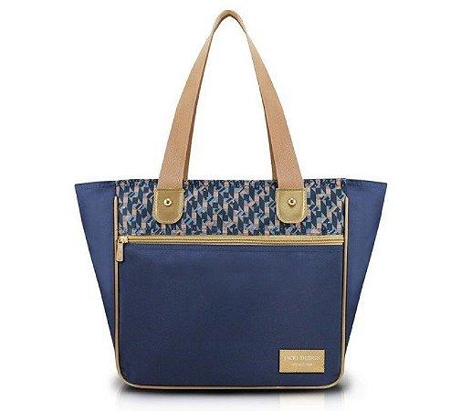 Bolsa G City Azul Zigzag Jacki Design - AHL17567