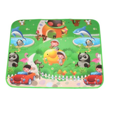 Tapete Térmico Emborrachado Infantil para Atividades Zoo 0,90 x 1,20M - IM43003