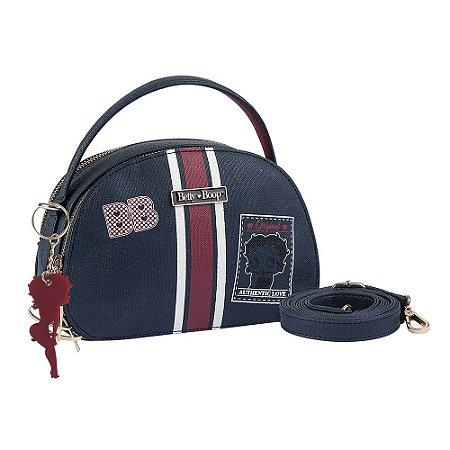 Bolsa Transversal Navy Betty Boop Semax Preto P - BP7902