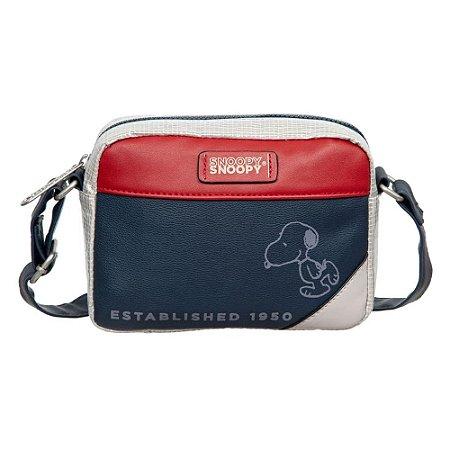 Bolsa Transversal Snoopy Semax Azul P - SP12002