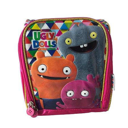 Lancheira Infantil Escolar CLIO Ugly Dolls Rosa UG23001L
