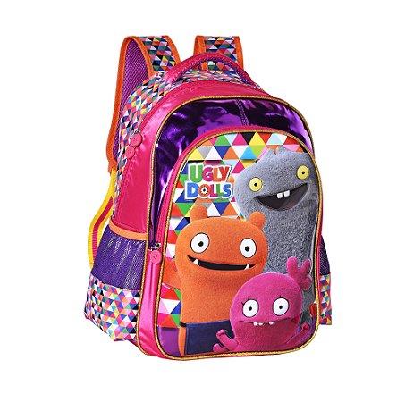 Mochila Escolar Infantil Ugly Dolls Rosa Clio UG2299J