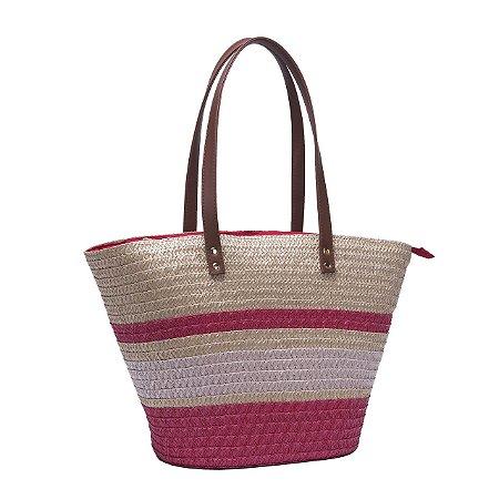 Bolsa de Praia Tote Bag Pagani Vermelho PG6933
