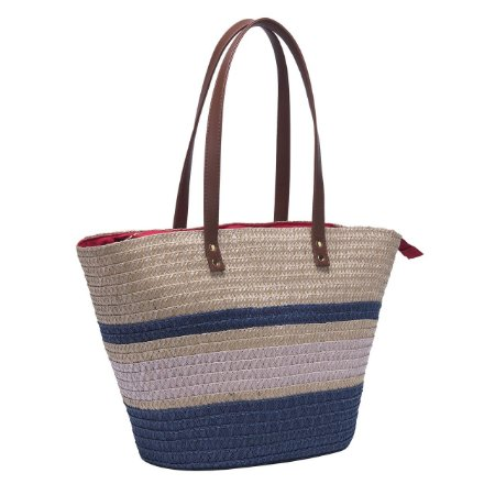 Bolsa de Praia Tote Bag Pagani Azul PG6933